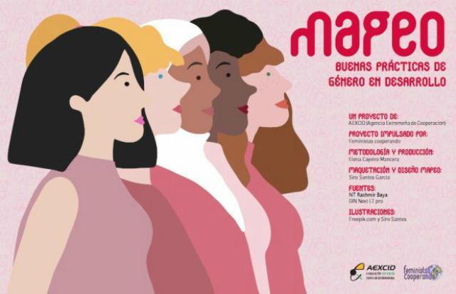 Feministas Cooperando: Mapeo de buenas prácticas de género