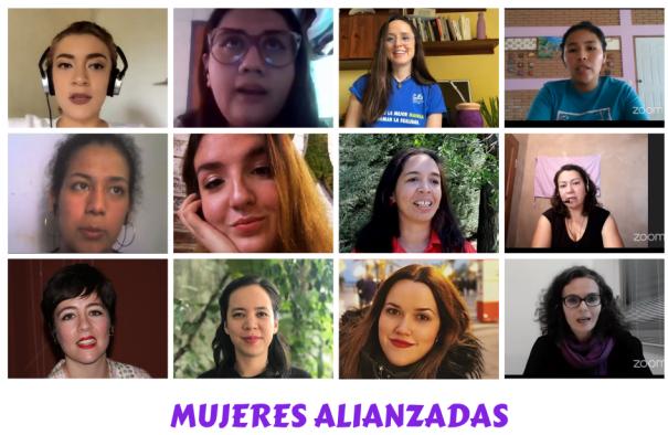 Mujeres ALIANZADAS intercambian experiencias