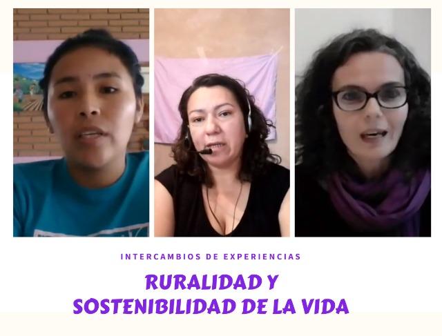 Mujeres rurales en apuesta por un modelo alternativo de vida