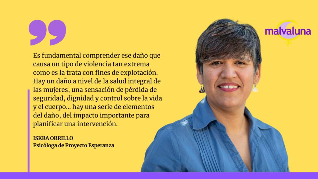 Proyecto Esperanza: Buenas prácticas en la atención integral a mujeres víctima de trata