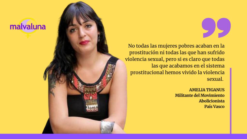 Amelia Tiganus: «La erradicación es el fin (de la prostitución), pero el camino es el abolicionismo»